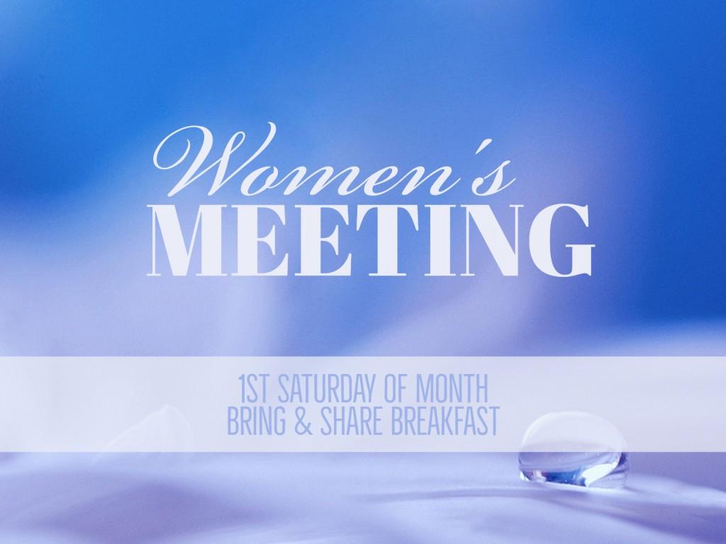 Women's Meeting