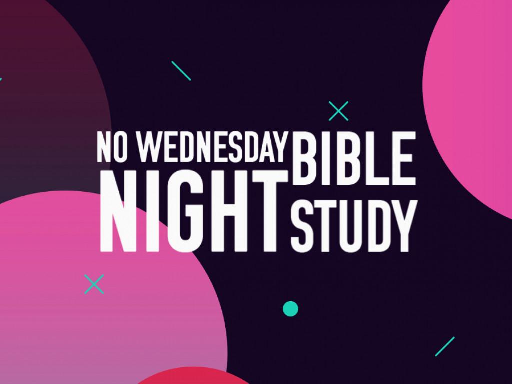 No Bible Study