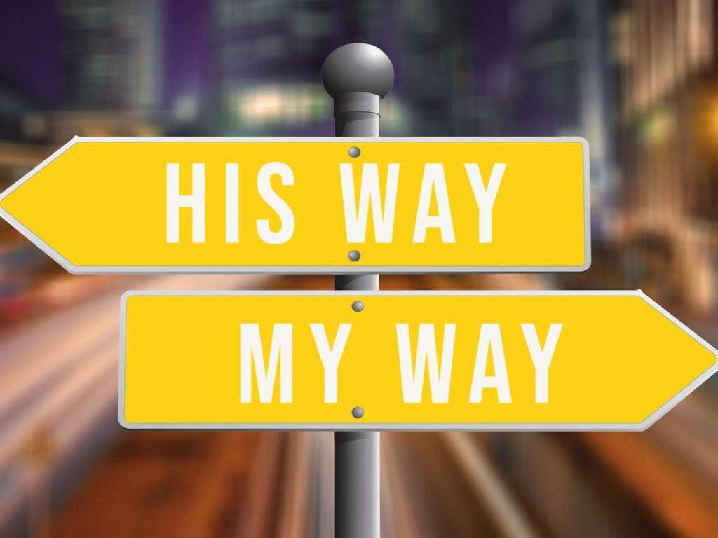 His Way, My Way