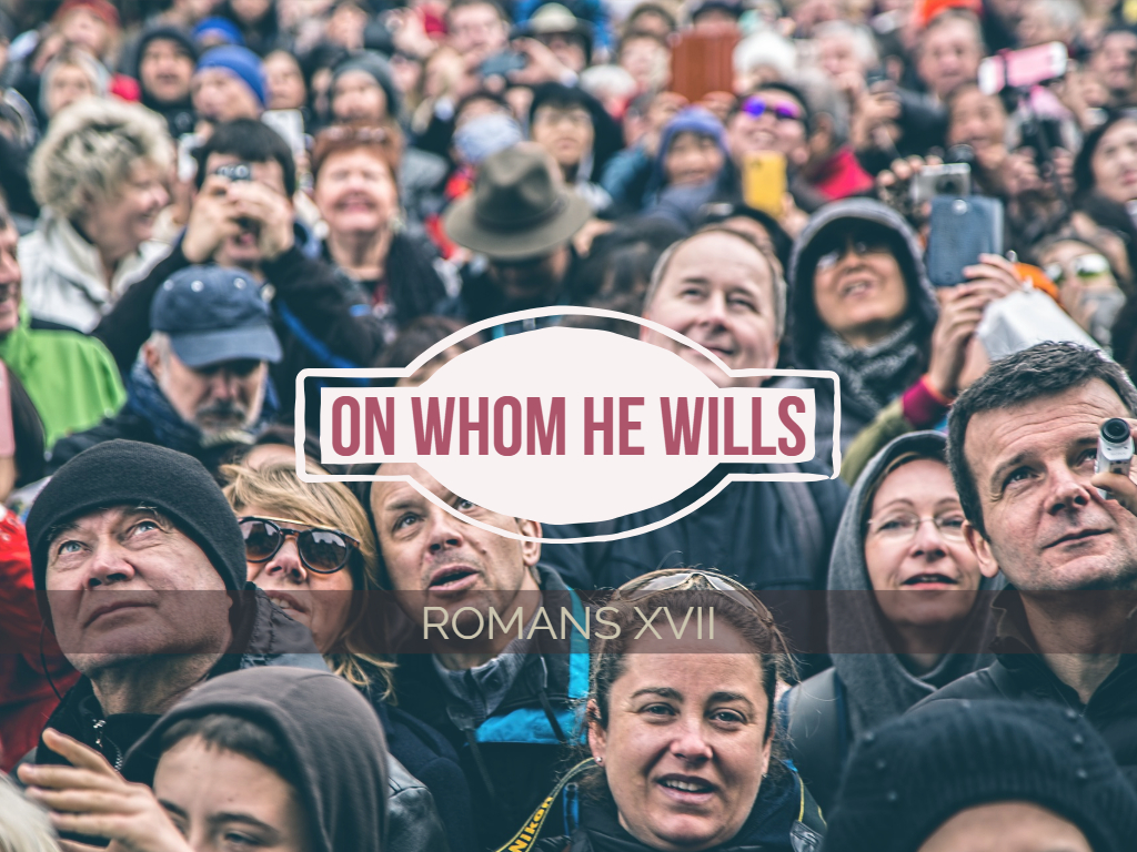 Romans XVII - On Whom He Will