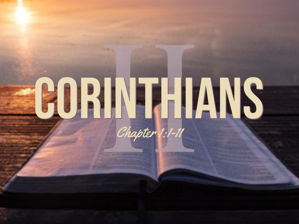2 Corinthians 1:1-11
