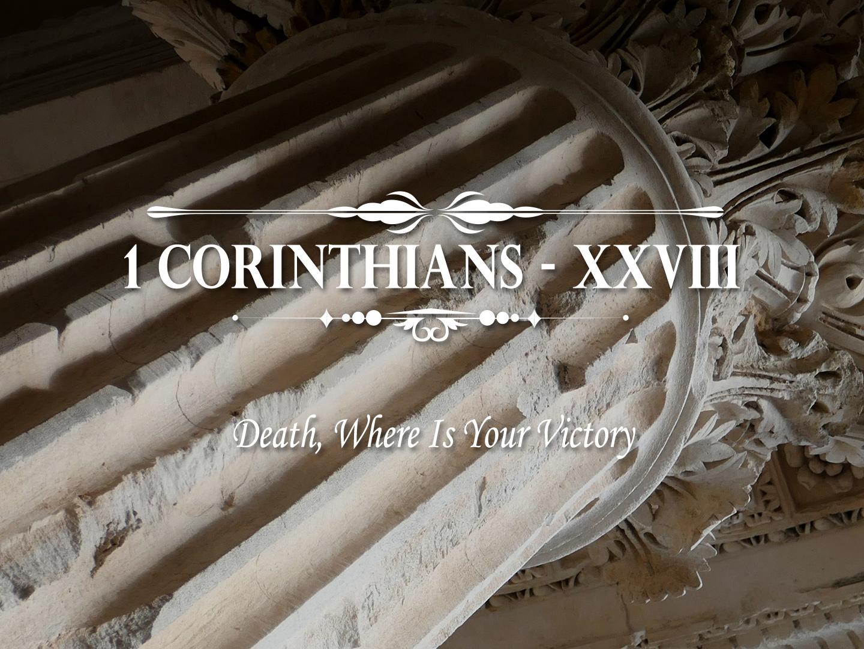 1 Corinthians Part 26